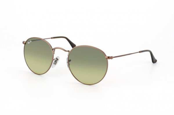 Очки Ray-Ban Round Metal RB3447-101-28 Matte Gold/Gradient Gray