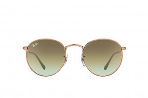 Очки Ray-Ban Round Metal RB3447-9002-A6 Bronze | Faded Green