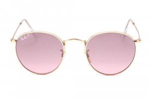 Очки Ray-Ban Round Metal Special Series RB3447-001-15 Arista | Pink Polarized