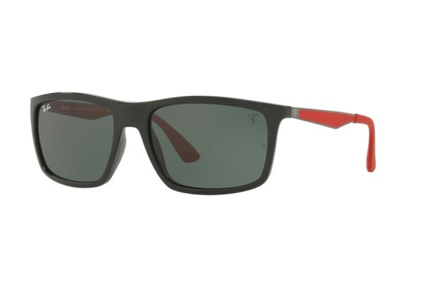 Очки Ray-Ban Scuderia Ferrari Collection RB4228M-F601-71 Black / Red | Green