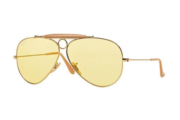Очки Ray-Ban Shooter Ambermatic RB3138-001-4A Arista | Ambermatic