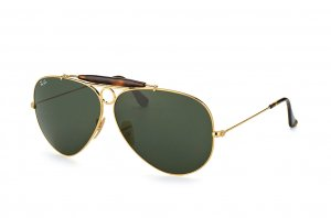 Очки Ray-Ban Shooter RB3138-181 Arista/Havana | Natural Green (G-15XLT)