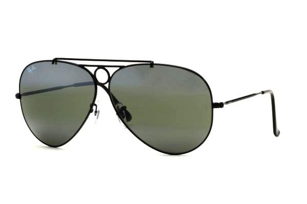 Очки Ray-Ban Shooter RB3292-002-37 Black | Green Mirror