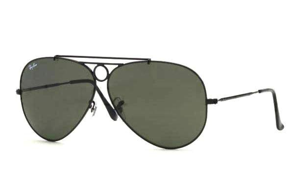 Очки Ray-Ban Shooter RB3292-002 Black | Natural Green (G-15 XLT)