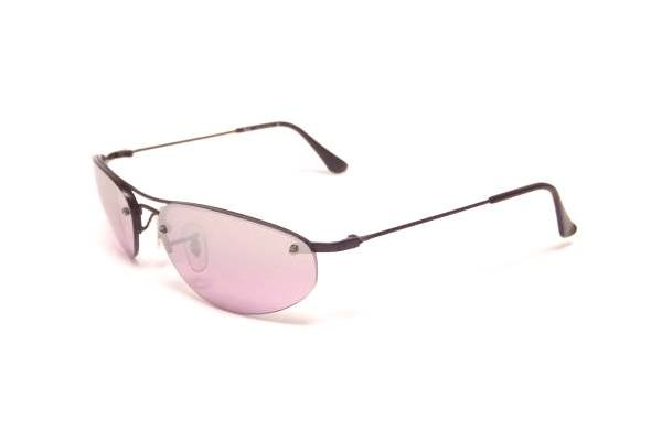 Очки Ray-Ban Sidestreet Top Oval RB3155-006-7A Matt Black | Pink GSM