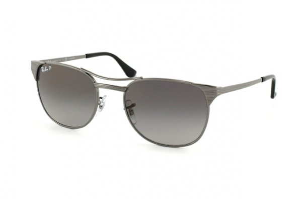 Очки Ray-Ban Signet RB3429-004-M3 Gunmetal | Black Polar Faded Grey