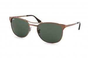 Очки Ray-Ban Signet RB3429-101 Matte Brown | Natural Green (G-15 XLT)