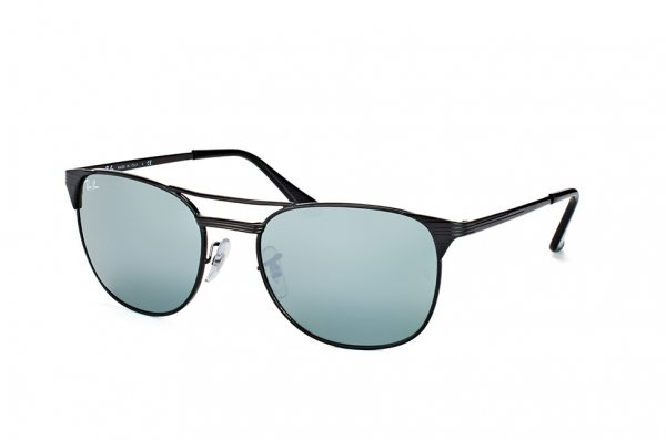 Очки Ray-Ban Signet RB3429M-002-40 Black |  Silver Mirror (G 31)
