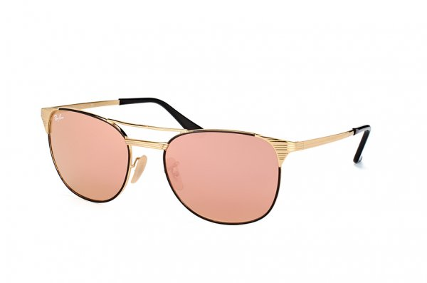 Очки Ray-Ban Signet RB3429M-9000-Z2 Arista/Black| Brown Mirror Pink