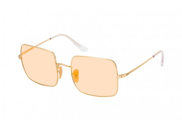 Очки Ray-Ban Square Evolve RB1971-001-B4 Arista | Orange Mirror