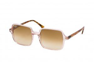 Очки Ray-Ban Square II RB1973-1281-51 Transparent Brown | Gradient Brown