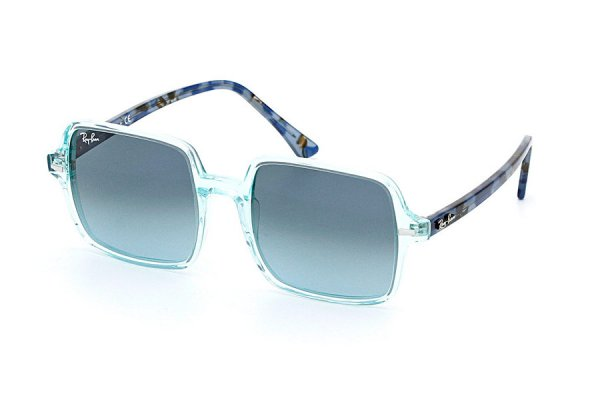 Очки Ray-Ban Square II RB1973-1285-3M Transparent Blue / Dark Blue| Gradient Blue
