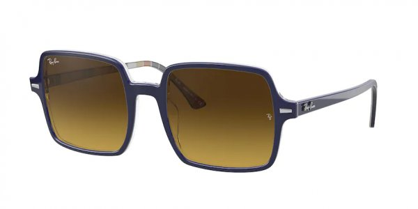 Очки Ray-Ban Square II RB1973-1320-85 Blue | Light Brown Gradient