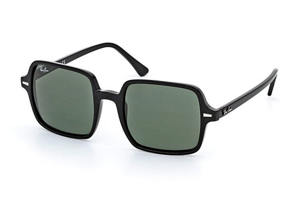 Очки Ray-Ban Square II RB1973-901-31 Black | Natural Green