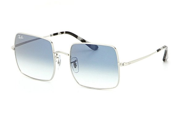 Очки Ray-Ban Square RB1971-9149-3F Silver | Blue Gradient