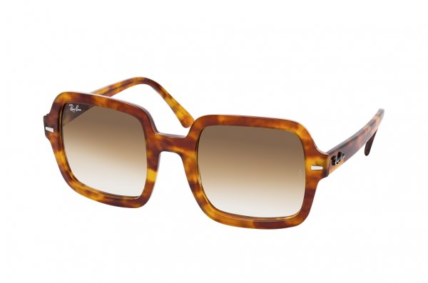 Очки Ray-Ban Square RB2188-1300-51 Havana | Gradient Light Brown