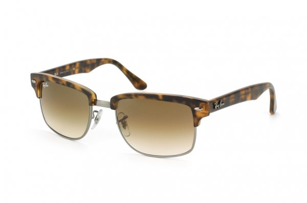 Очки Ray-Ban Squared Clubmaster RB4190-878-51 Light Havana | Faded Brown