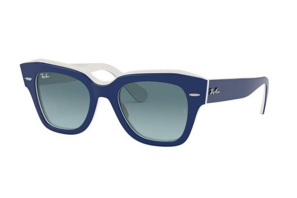 Очки Ray-Ban State Street RB2186-1299-3M Blue / White | Blue Gradient