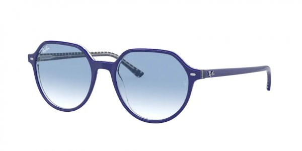 Очки Ray-Ban Thalia RB2195-1319-3F Blue | Light Blue Gradient