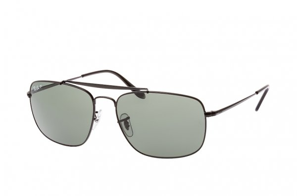 Очки Ray-Ban The Colonel RB3560-002-58 Black | Natural Green Polarized