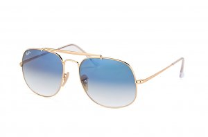 Очки Ray-Ban The General RB3561-001-3F Arista/Gradient Light Blue