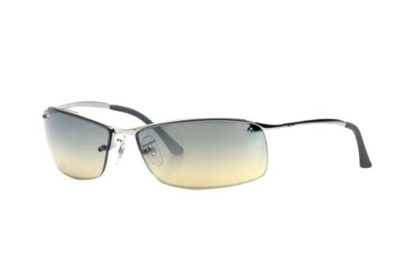 Очки Ray-Ban Top Bar RB3179-003-8I Silver | Gradient Grey / Yellow