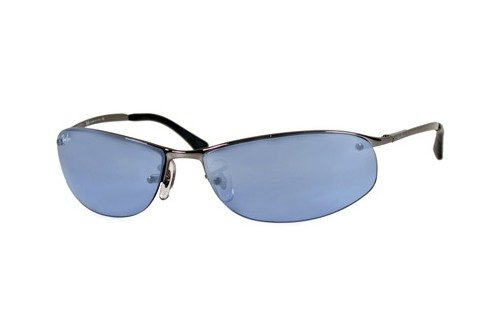 Очки Ray-Ban Top Bar RB3179-004-7C Gunmetal | Dark Blue