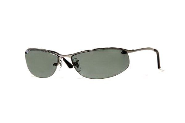 Очки Ray-Ban Top Bar RB3179-004-9A Gunmetal | APX Grey/Green Polarized