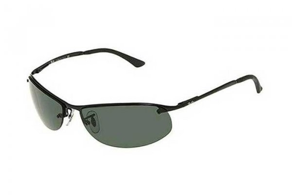 Очки Ray-Ban Top Bar RB3179-006-9A Matt Black | Natural Green Polarized