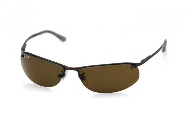Очки Ray-Ban Top Bar RB3179-014-83 Brown | Poly. Polar Brown Polarized P3