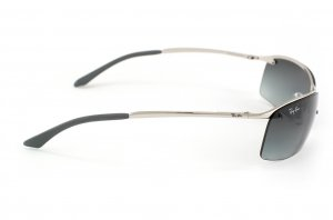 Очки Ray-Ban Top Bar RB3183-003-11 Silver | Faded Grey