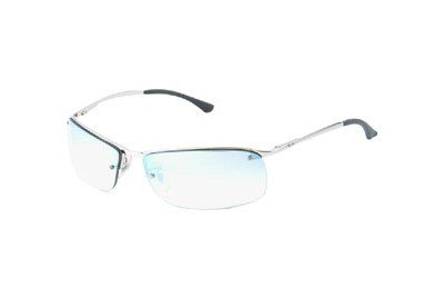 Очки Ray-Ban Top Bar RB3183-003-Z1 Silver | Light Gradient Grey