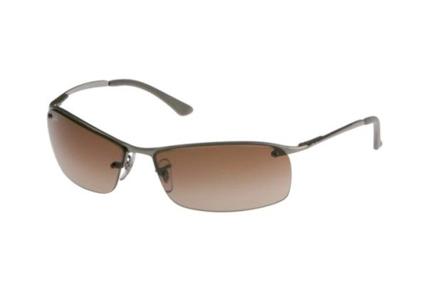Очки Ray-Ban Top Bar RB3183-004-13 Gunmetal/Poly. Gradient Brown