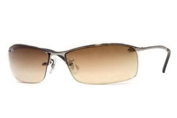 Очки Ray-Ban Top Bar RB3183-004-8W Gunmetal| Gradient Brown