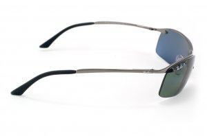 Очки Ray-Ban Top Bar RB3183-004-9A Gunmetal | APX Grey/Green Polarized