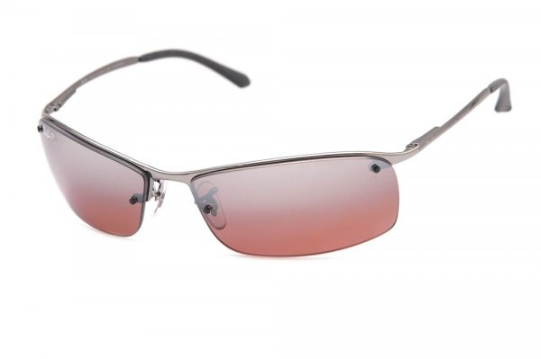 Очки Ray-Ban Top Bar RB3183-004-9K Gunmetal | Brown Pink Polarized