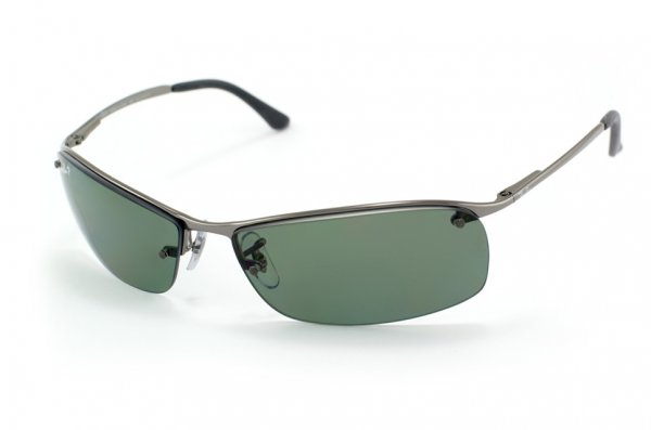 Очки Ray-Ban Top Bar RB3183-004-T3 Gunmetal | APX Gray Gradient Polarized