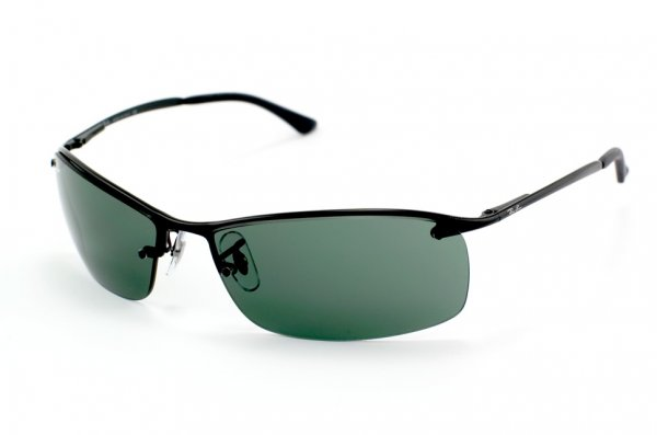 Очки Ray-Ban Top Bar RB3183-006-71 Matt Black | Green/Grey