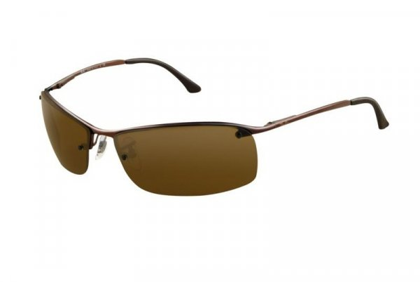 Очки Ray-Ban Top Bar RB3183-014-73 Brown | Poly. Brown