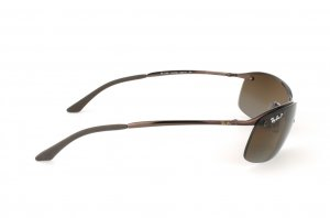 Очки Ray-Ban Top Bar RB3183-014-T5 Brown | Poly. Brown Polarized