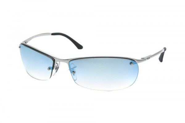 Очки Ray-Ban Top Bar RB3186-003-Z1 Silver | Light Gradient Blue
