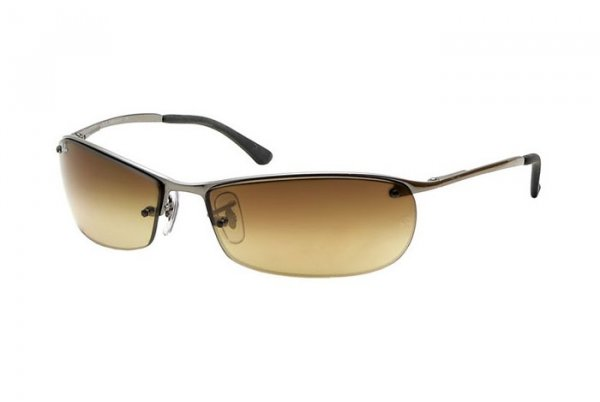 Очки Ray-Ban Top Bar RB3186-004-8W Gunmetal | Poly. Gradient Brown