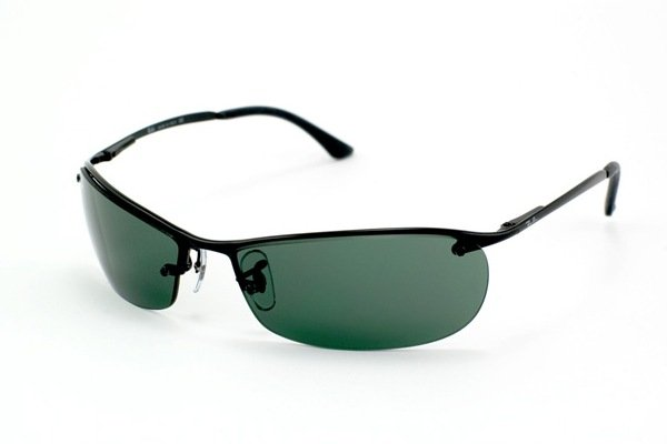 Очки Ray-Ban Top Bar RB3186-006-71 Matt Black | Grey/Green