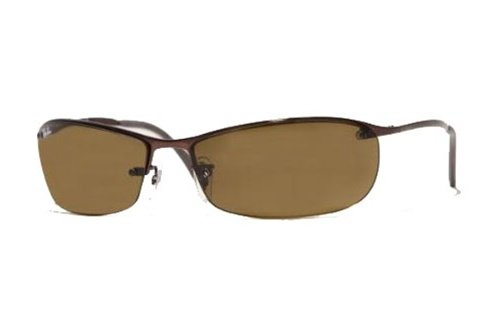 Очки Ray-Ban Top Bar RB3186-014-83 Brown | Poly. Brown Polarized P3