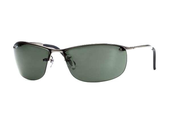 Очки Ray-Ban Top Bar RB3187-004-71 Gunmetal | APX Grey/Green