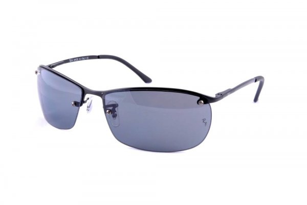 Очки Ray-Ban Top Bar RB3187-006-71 Matt Black | APX Grey/Green