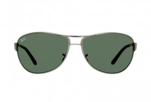 Очки Ray-Ban Warrior RB3342-004 Gunmetal/Natural Green (G-15XLT)