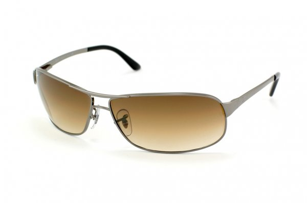 Очки Ray-Ban Warrior RB3343-004-51 Gunmetal/Faded Brown