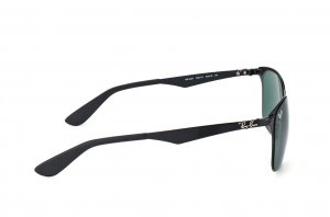 Очки Ray-Ban Wayfarer Flat Metal RB3521-006-71 Matt Black | APX Grey/Green