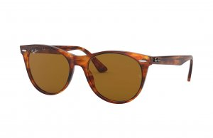 Очки Ray-Ban Wayfarer II Classic RB2185-954-33 Light Havana | Natural Brown